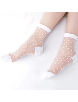 Caliente Verano Mujer Calcetines Mujer Fino Cristal Seda Transparente Calcetines Niñas Estiramiento Calcetines Mujer Calcetines 2019 by Ali Express.Com