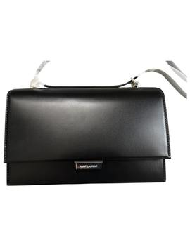 Babylone Leather Handbag by Saint Laurent