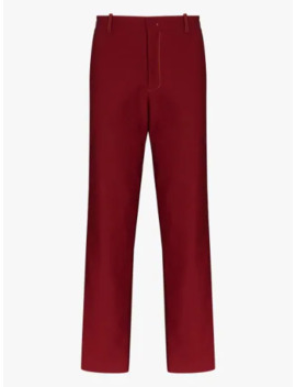Toby Tech Twill Tailored Trousers by Sies Marjan