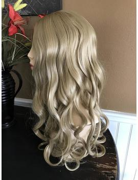 Cinderella // Blonde Full Synthetic Wig by Etsy