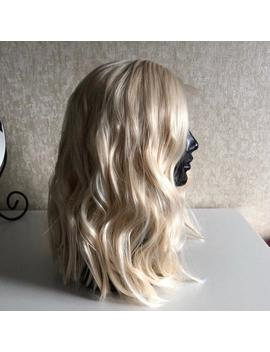 """Kameron 14"""" Wavy Blonde Lace Front Synthetic Hair Wig by Etsy"""