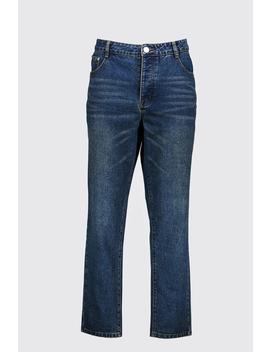 Big & Tall Slim Fit Rigid Jean by Boohoo