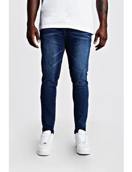 Big & Tall Skinny Fit Jeans by Boohoo