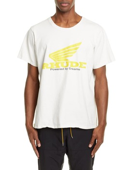 Yellow Rhonda Graphic T Shirt by Rhude