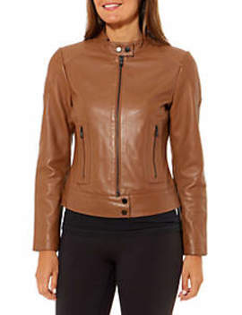 Women's Leather Jacket by The Limited
