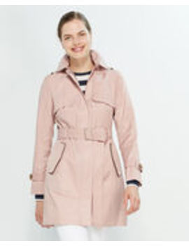 Hooded Trench Coat by Cole Haan