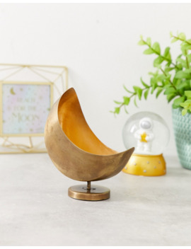 Sass &Amp; Belle Moon Shaped Planter by Sass & Belle