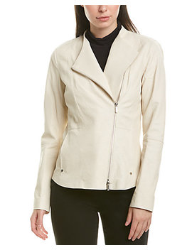 Lafayette 148 New York Aimes Leather Jacket by Lafayette 148 New York