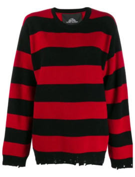 Oversized Striped Jumper by Marc Jacobs