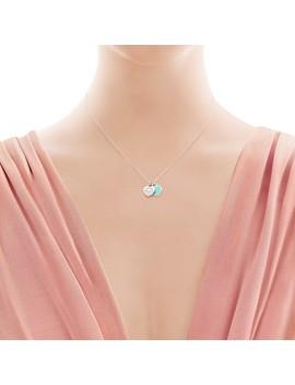 Return To Tiffany®        Mini Double Heart Tag Pendant by Return To Tiffany®