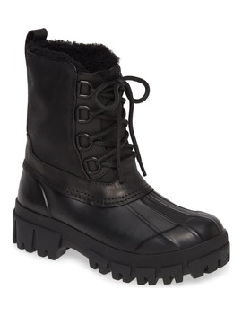 Waterproof Duck Boot With Genuine Shearling Lining by Rag & Bone