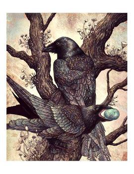 Ravens 8x10 Print by Etsy