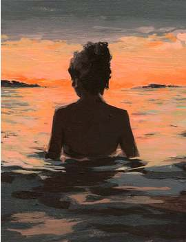 Summer Sunset . Giclee Art Print Available In All Sizes by Etsy