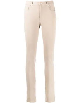 Mid Rise Slim Fit Trousers by Joseph