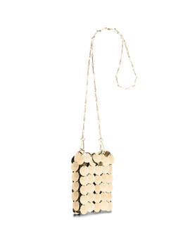 Sparkle Mini 1969 Iconic Shoulder Bag by Paco Rabanne