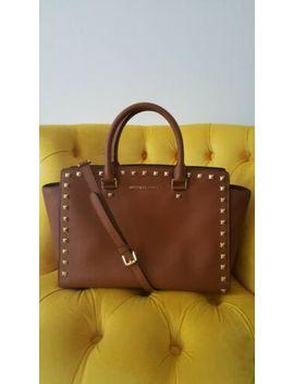 Michael Kors Selma Brown Satchel Crossbody Bag by Ebay Seller