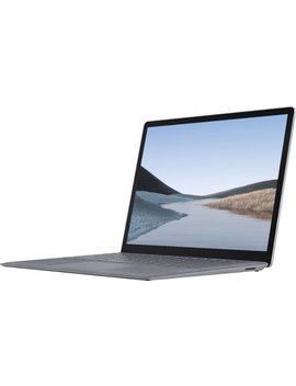"""Surface Laptop 3   13.5\"""" Touch Screen   Intel Core I5   8 Gb Memory   128 Gb Solid State Drive (Latest Model)   Platinum by Microsoft"""