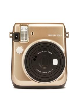 Instax Michael Kors Mini 70 Gold Camera by Instax Mini By Fujifilm
