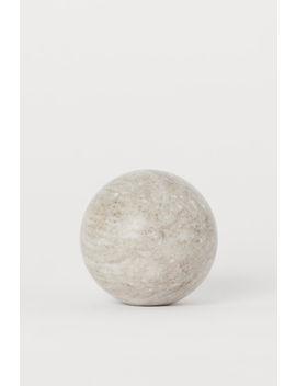 Sphère En Marbre by H&M