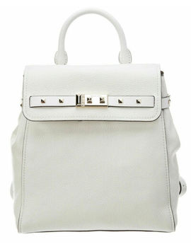 Michael Kors Nwt Addison Medium Leather Backpack Shoulder Bag White Leather by Ebay Seller