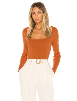 Anita Sweater In Rust Orange by L'academie