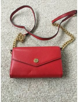 Michael Kors Red Crossbody Chain Bag New by Ebay Seller