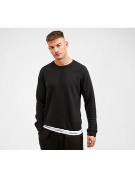 Waistband Sweatshirt | Black / White by Calvin Klein