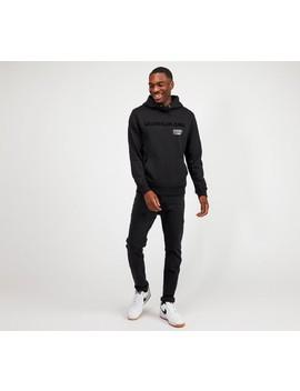 Multi Logo Overhead Hooded Top | Black by Calvin Klein Jeans