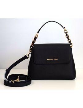 Michael Kors Damen Tasche Crossbody Portia Sm Ew Satchel Leder Schwarz by Ebay Seller