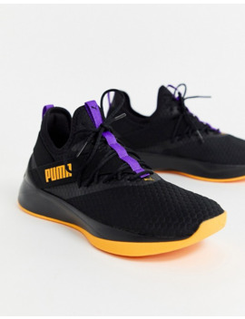 Puma Running Jaab Xt Rave Trainers In Black by Puma