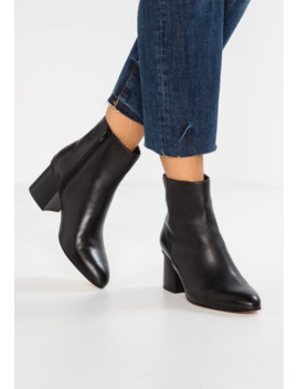 Leather Booties   Classic Ankle Boots by Anna Field