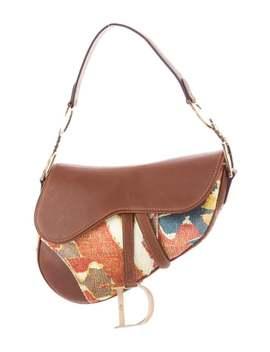 Impression Kilim Saddle Bag by Christian Dior
