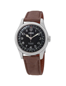 Big Crown Pointer Date Automatic Black Dial Men's Watch by Oris