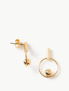 Circle Ball Stud Earrings by Marks & Spencer