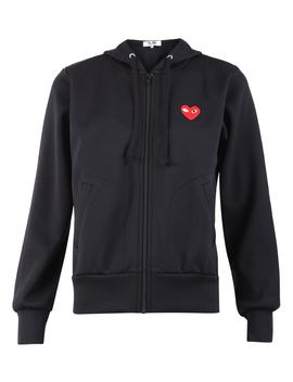 Comme Des Garçons Play Embroidered Hoodie by Comme Des Garçons Play