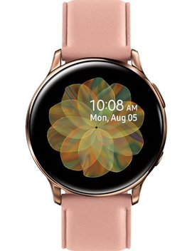 Galaxy Watch Active2 Smartwatch 40mm Stainless Steel Lte (Unlocked)   Gold by Samsung