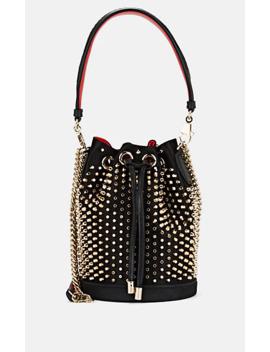 Marie Jane Satin Bucket Bag by Christian Louboutin