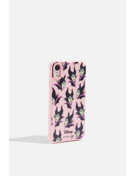 **Maleficent Shock Case   I Phone Xr By Skinnydip by Topshop