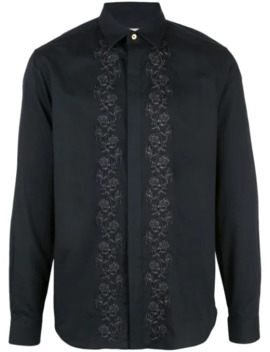 Embroidered Rose Shirt by Paul Smith