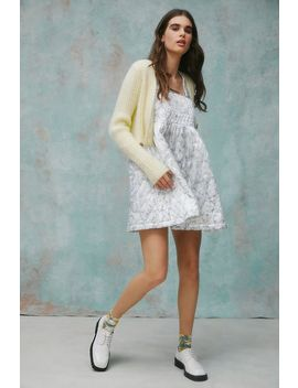 Laura Ashley Uo Exclusive Mia Quilted Mini Dress by Laura Ashley
