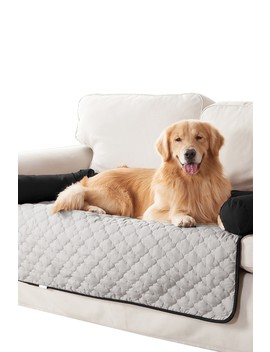Wubba Silver/Black Reversible Pet Bed by Duck River Textile