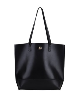 Classic Carryall Leather Tote Bag by Most Wanted Usa