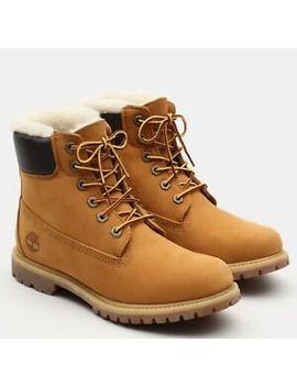 Timberland Damen Winter Boots Lammfell Nubuk Leder Wasserdicht Viele Größen Neu by Ebay Seller