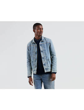 Levi's® Made & Crafted® Type Ii Worn Trucker Jacket by Levi's