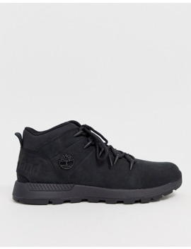 Timberland Euro Sprint Trekker Boots In Black by Timberland's