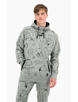 Oversize Schnitt Mit Graffiti Print by Champion
