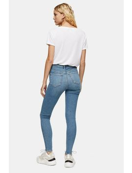 Authentic Abraided Hem Jamie Jeans by Topshop