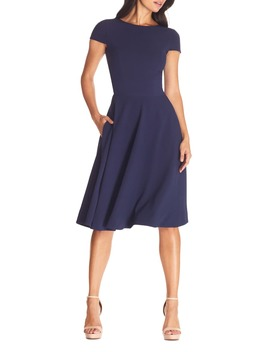 Livia Fit & Flare Dress by Dress The Population