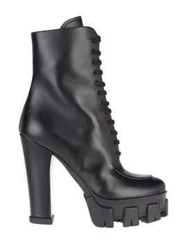 Prada Lace Up Boots by Prada