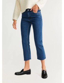 "<Font Style=""Vertical Align: Inherit;""><Font Style=""Vertical Align: Inherit;"">Crop Straight Jeans</Font></Font> by Mango"